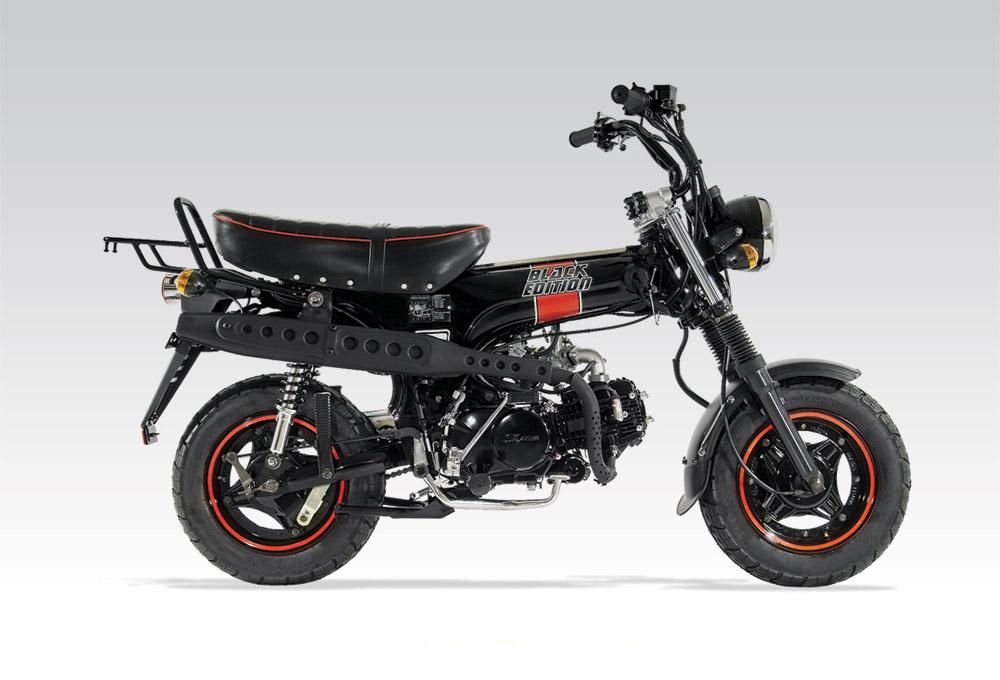 dimension garage moto dax 125. Black Bedroom Furniture Sets. Home Design Ideas