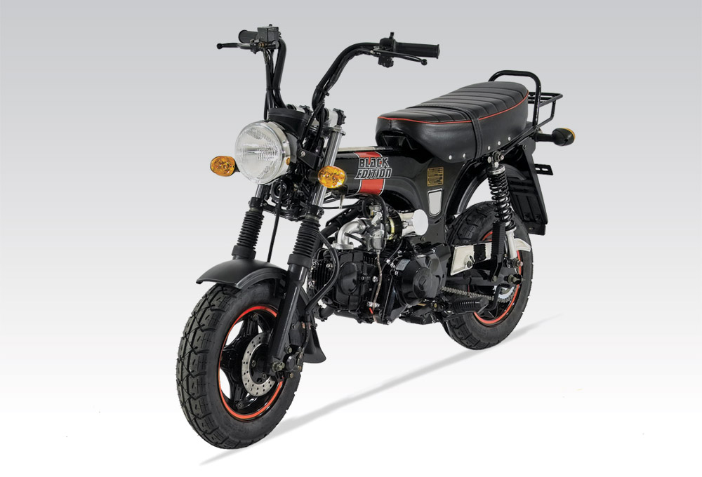 Moto DAX SKYTEAM 125 BLACK EDITION