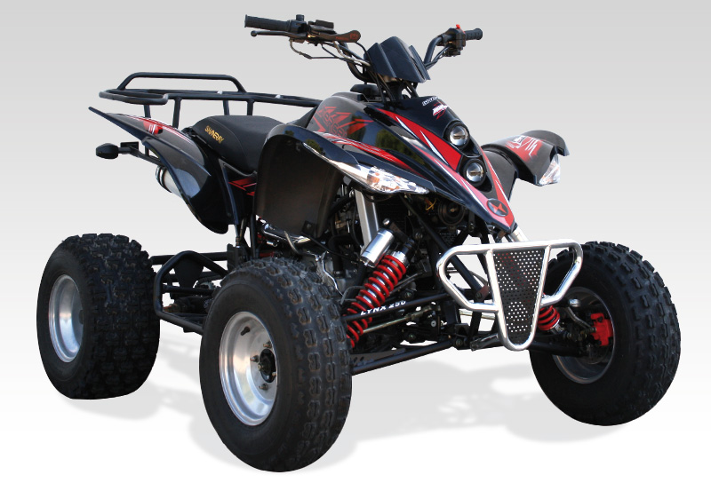 Quad SHINERAY 250 Automatique STIXE - Quad Homologué Route
